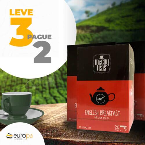 Europa Importadora - Kit Chá básico English Breakfast - Leve 3 Pague 2