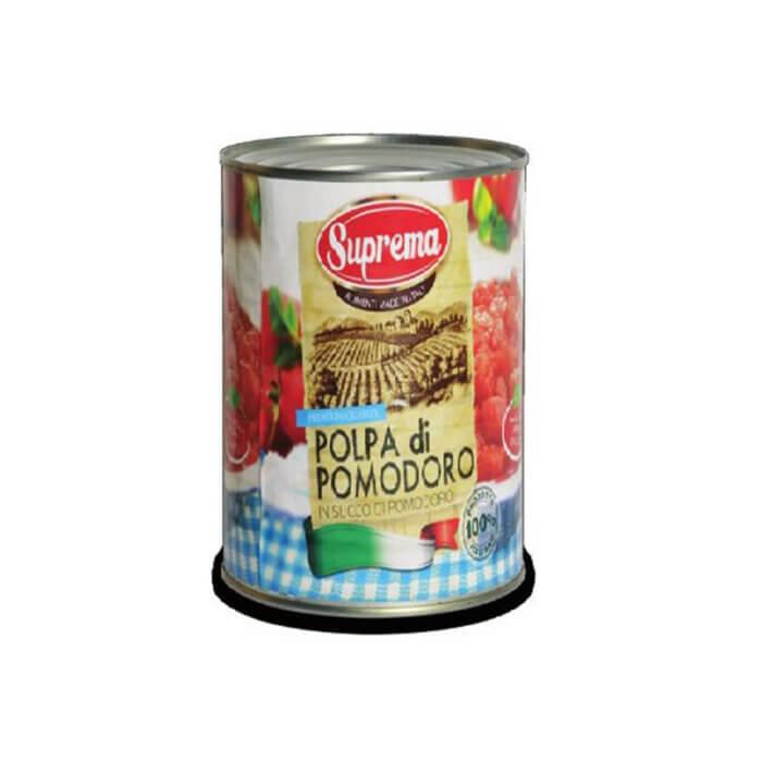 Polpa de Tomate em Cubos